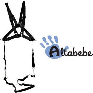 Altabebe - Kindertuigje met looplijn - Looptuigje kind - Wandeltuigje - Veiligheidstuigje voor Kinderstoel, Fietsstoeltje, Buggy en Wandelwagen