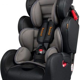 Autostoel Baninni Ventura BN411 Zwart-Grijs (9-36kg)