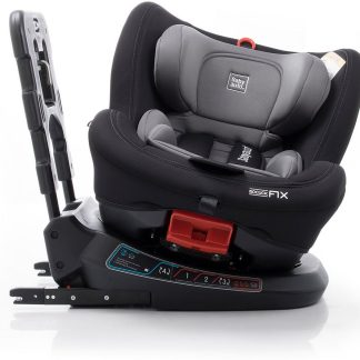 Autostoel Birofix black/grey 360