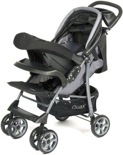 QUAX Wandelwagen 2 in 1 (incl. autostoel gr. 0)