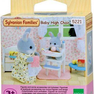 Sylvanian Families 5221 Hoge Kinderstoel - Speelfigurenset