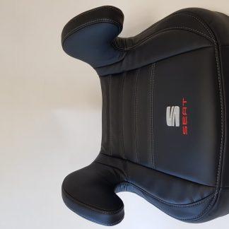 Zitverhoger Leer, Zwart, Seat
