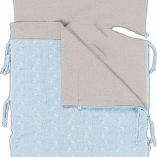 Baby's Only zomer voetenzak autostoel 0+ Kabel baby blauw