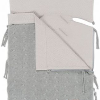 Baby's Only zomer voetenzak autostoel 0+ Kabel licht grijs