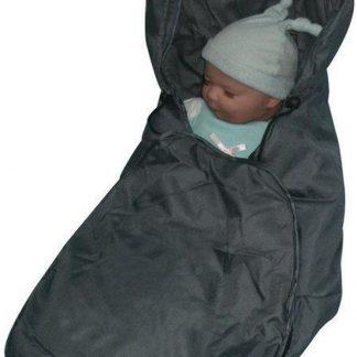 Babywellness Voetenzak Autostoel - Grijs