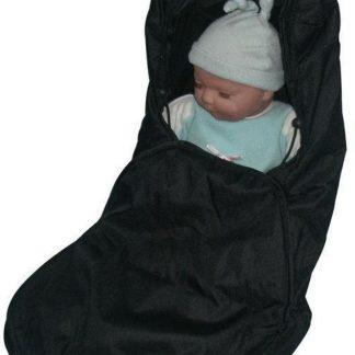 Babywellness Voetenzak Autostoel - Zwart