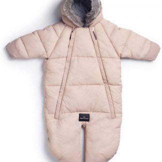 Elodie Details Voetenzak / Overall-slaapzak voor Autostoel Powder Pink 6-12m