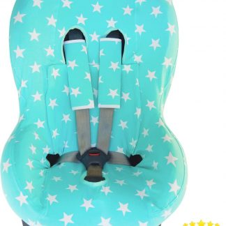 Maxi-Cosi hoes - Tobi - Axiss - Pearl - Priori - Autostoel hoes groep 1 (+) - Peuter stoelhoes - Ster Mintgroen