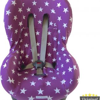 Maxi-Cosi hoes - Tobi - Axiss - Pearl - Priori - Autostoel hoes groep 1 (+) - Peuter stoelhoes - Ster Paars