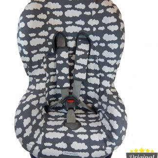 Maxi-Cosi hoes - Tobi - Axiss - Pearl - Priori - Autostoel hoes groep 1 (+) - Peuter stoelhoes - Wolk Grijs