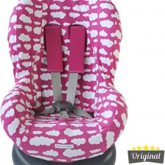Maxi-Cosi hoes - Tobi - Axiss - Pearl - Priori - Autostoel hoes groep 1 (+) - Peuter stoelhoes - Wolk Roze