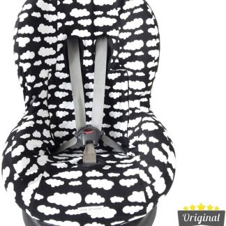 Maxi-Cosi hoes - Tobi - Axiss - Pearl - Priori - Autostoel hoes groep 1 (+) - Peuter stoelhoes - Wolk Zwart