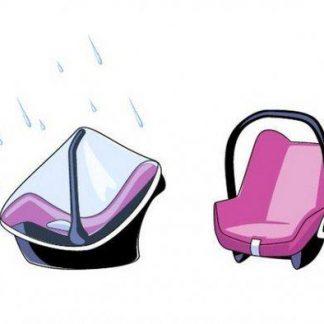 Titaniumbaby - Regenhoes Autostoel