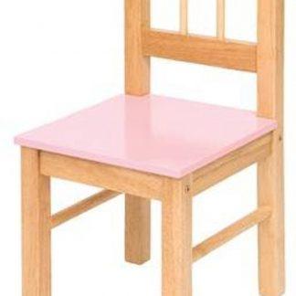 Bigjigs - Kinderstoel - Hout - Roze