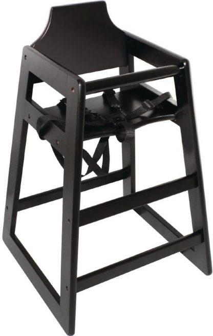 Bolero Donkerbruin houten kinderstoel