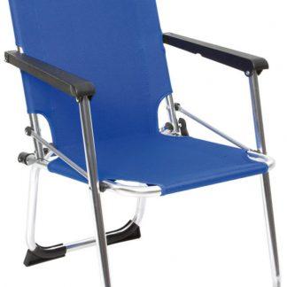 Camp-gear Kinderstoel - Safety-lock - Blauw