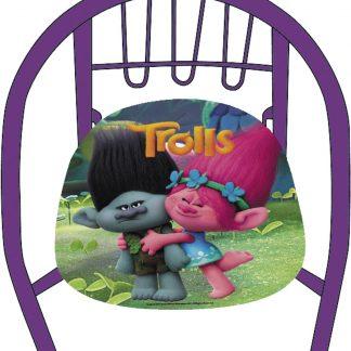 Dreamworks Kinderstoel Trolls 36 X 35 X 36 Cm Paars