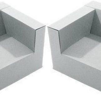 Kartonnen Kinderstoel set van 2