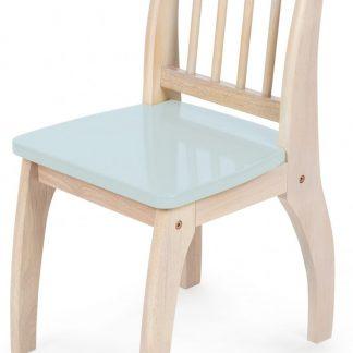 Tidlo Houten Kinderstoel 32 X 36 X 60 Cm Lichtblauw
