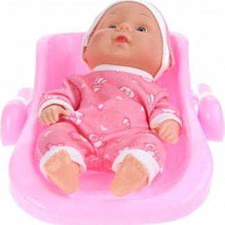 Toi-toys Babypop Met Kinderstoel - Roze