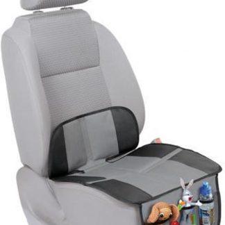 Universele Autostoel Beschermer - Organizer met 3 Vakken - Bescherm Mat voor Kinderstoel in Auto