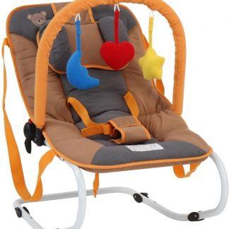 Wipstoeltje, beermotief, wipper, kinderstoeltje, babyschommelstoeltje