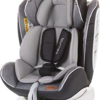Autostoel Tourneo isofix ash 0-36 kg 360 graden draaibaar