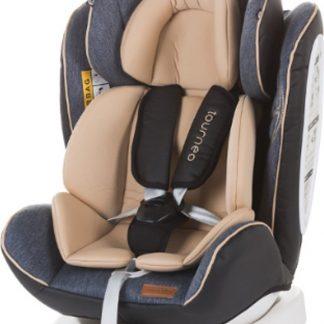 Autostoel Tourneo isofix beige 0-36 kg 360 graden draaibaar