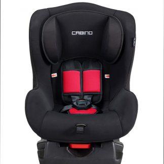 Cabino Autostoel 0-18kg Zwart-Rood