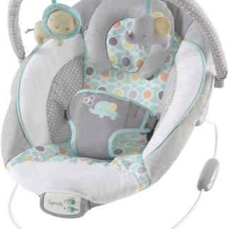 Vibrerende relax | Ingenuity Morrison Baby Bouncer wipstoeltje | Babysitter met trilling en geluid
