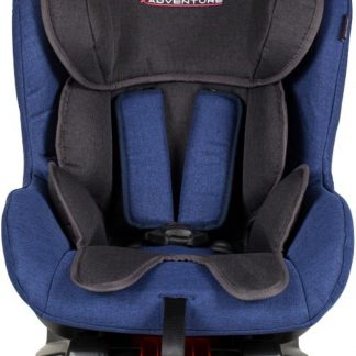 Xadventure - Autostoel Ranger - Jeans - Blauw