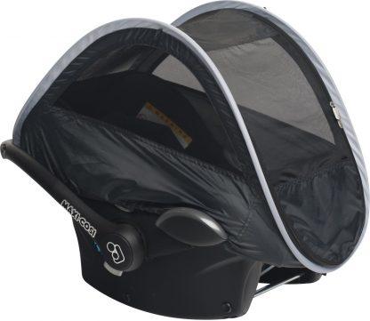 Deryan autostoel - zon & muggen beschermer - Klamboe