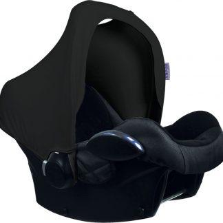 Dooky Hoody - Zonnekap autostoel - Black