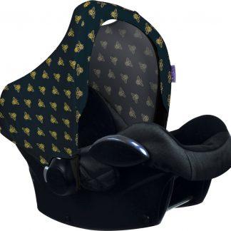 Dooky Hoody Zonnekap autostoel - Gouden Bij