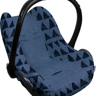 Dooky Seat Cover 0+ Autostoel hoes - Blue Tribal