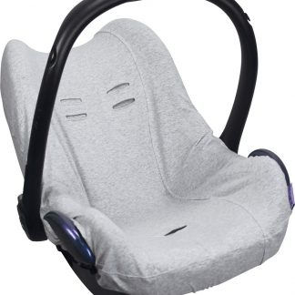 Dooky Seat Cover 0+ - Autostoel hoes - Light Grey Melange