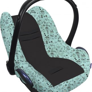 """Limited Edition - Dooky Seat Cover 0+ - Autostoel hoes - """"Little Princess - Glow in the Dark"""""""