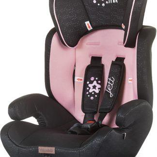 Autostoel Chipolino Jett roze voor groep I, II & III