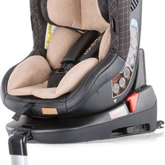 Autostoel Toledo isofix beige 0-18 kg 360 graden draaibaar