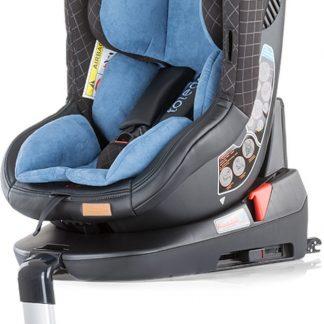 Autostoel Toledo isofix blauw 0-18 kg 360 graden draaibaar