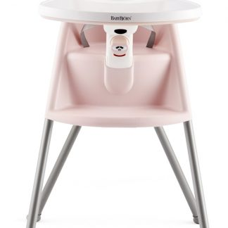 BABYBJÖRN Kinderstoel Parelroze/Grijs