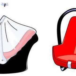 Babsana - Klamboe Voor Autostoel