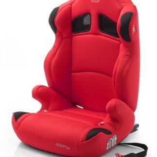 BabyAuto Pro Kids Kinderstoel Polee-Fix (ISO-Fix) Rood, 15 - 36 kg / 4 - 12 jaar (E13 / ECE R44/04)