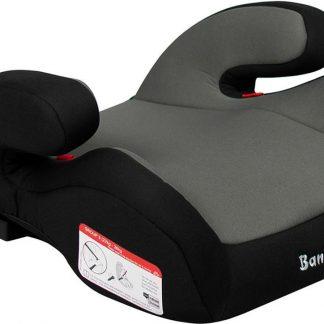 Booster - Zitverhoger Baninni Robu met Achterbank Aansluiting Grijs (22-36kg)