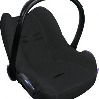 Dooky Seat Cover 0+ - Autostoel hoes - Zwart Uni
