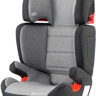 Kinderkraft autostoel Junior Fix Black-Grey (15-36kg)