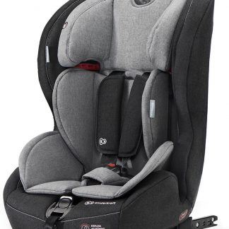 Kinderkraft autostoel Safetyfix Black/Grey (9-36kg)