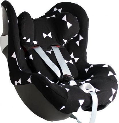 Ukje - Cybex autostoel hoes Cybex Sirona M - Zwart