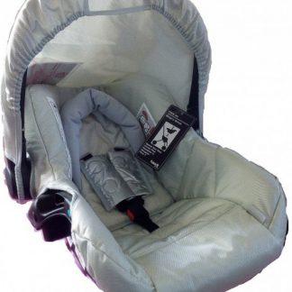 Autostoel Lifesaver 0+ Zilver I'coo