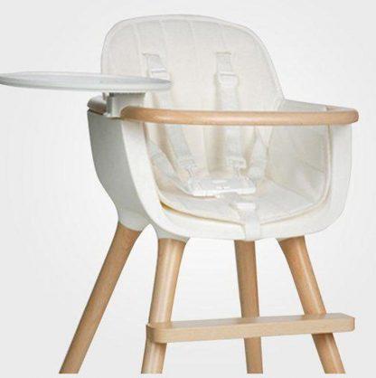 Kussentje voor design kinderstoel Ovo wit